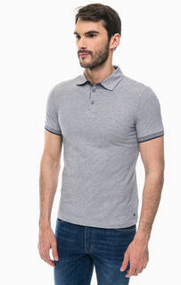 Хлопковая футболка поло с короткими рукавами Marc Opolo