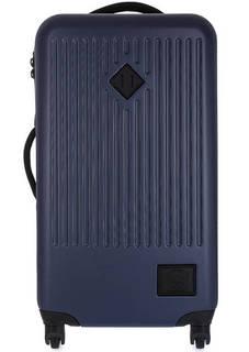 Пластиковый чемодан синего цвета Herschel