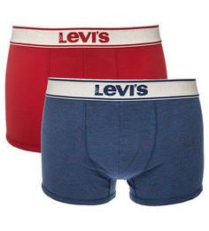 Комплект из двух хлопковых трусов-боксеров Levis