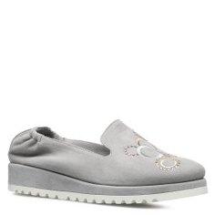 Туфли ZENUX 80011 светло-серый