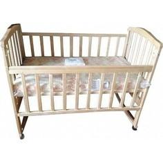 Кроватка Агат Золушка 1 (слоновая кость) 52105