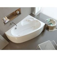 Акриловая ванна Alpen Terra R 170x110, правая (комплект)