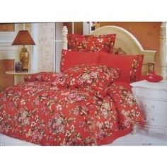 Комплект постельного белья Le Vele 2-х сп, сатин/жатый шелк, Hillary (743/29)