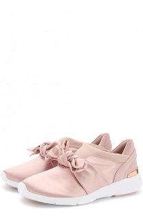 Текстильные кроссовки Willa с бантом MICHAEL Michael Kors