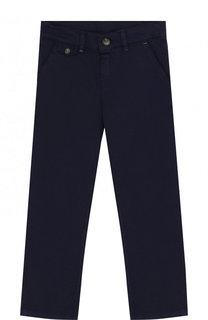 Хлопковые брюки прямого кроя Tartine Et Chocolat