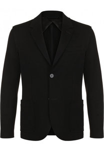 Однобортный хлопковый пиджак Lanvin