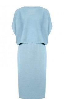 Вязаное платье из смеси шелка и кашемира без рукавов Tse