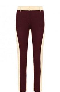 Укороченные брюки из смеси вискозы и шелка Valentino