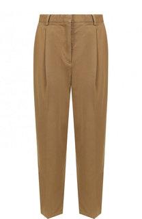 Укороченные однотонные брюки из хлопка Acne Studios