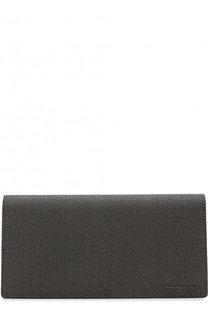 Бумажник с отделениями для кредитных карт и монет Ermenegildo Zegna
