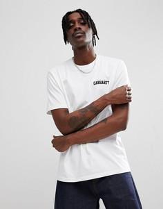 Белая футболка Carhartt WIP - Белый