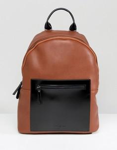 Светло-коричневый кожаный рюкзак Smith And Canova - Рыжий