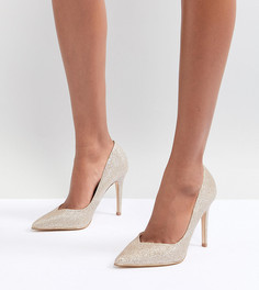 Туфли-лодочки металлик Lipsy - Золотой