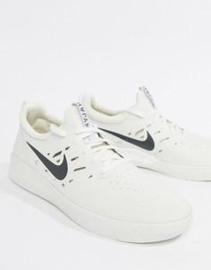 Белые кроссовки Nike SB Nyjah Free AA4272-100 - Белый