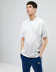 Серая футболка-поло adidas Originals EQT 18 CD6847 - Серый