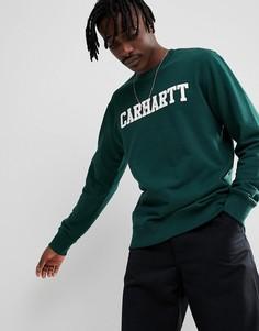 Зеленый свитшот Carhartt WIP - Зеленый