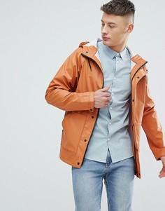 Фестивальная прорезиненная куртка Another Influence - Коричневый