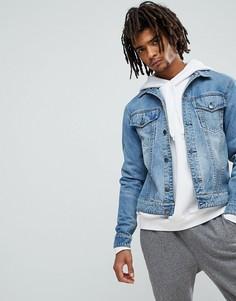 Синяя джинсовая куртка Cheap Monday - Синий