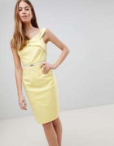 Желтое платье Paper Dolls - Желтый