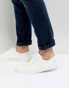 Белые кроссовки с логотипом Farah - Белый