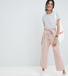 Кюлоты с поясом ASOS DESIGN Tall - Розовый