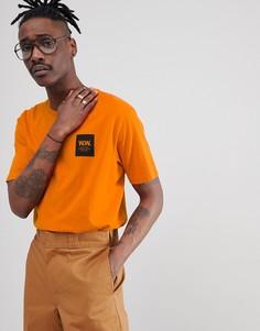 Оранжевая футболка с логотипом Wood Wood - Оранжевый
