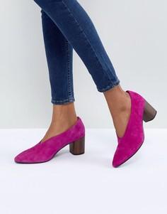 Фиолетовые туфли на деревянном каблуке Vagabond Eve - Фиолетовый