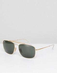 Солнцезащитные очки-авиаторы Ray-Ban 0RB3560 - Золотой