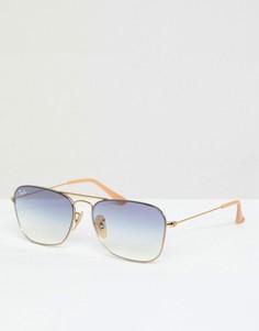 Солнцезащитные очки‑авиаторы Ray‑Ban 0RB3603 - Серебряный