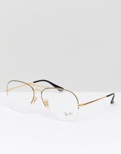 Очки-авиаторы Ray-Ban 0RX6589 - Черный