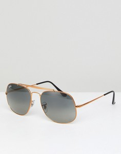 Солнцезащитные очки-авиаторы Ray-Ban The General 0RB3561 - Золотой