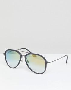 Солнцезащитные очки-авиаторы Ray-Ban 0RB4298 - Черный