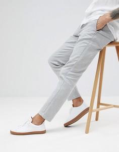 Зауженные брюки Selected Homme - Серый