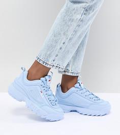 Синие кроссовки Fila Disruptor - Синий