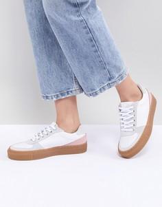 Кожаные кроссовки в стиле колор блок Mads Norgaard - Мульти