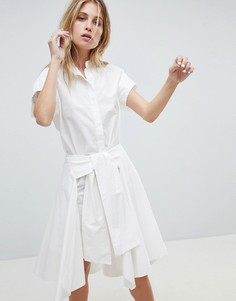 Платье-рубашка AllSaints - Белый