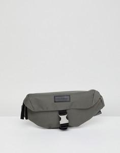 Серая сумка-кошелек на пояс Consigned - Серый