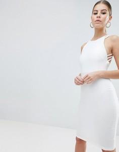 Платье миди Vesper - Белый