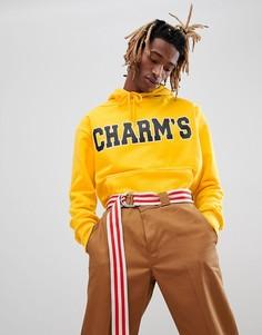 Худи желтого цвета с логотипом Charms - Желтый Charm`S