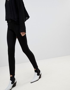 Джеггинсы с лямками Vero Moda - Черный