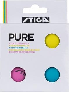 Мячи для настольного тенниса Stiga, 4 шт.