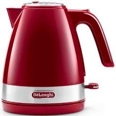 Чайник электрический DELONGHI KBLA 2000.R, 2000Вт, красный Delonghi