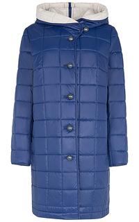 Пальто на синтепоне с капюшоном Elema