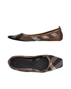 Домашние туфли Burberry