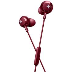 Наушники внутриканальные Philips Bass+ SHE4305 Red