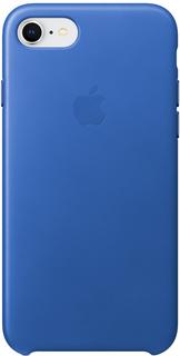 Клип-кейс Apple Leather Case для iPhone 8/7 (синий электрик)
