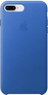 Клип-кейс Apple Leather Case для iPhone 8 Plus/7 Plus (синий электрик)