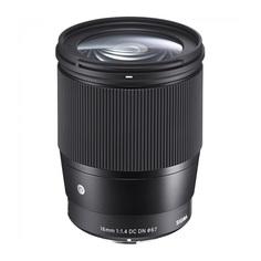 Объектив Sigma Sony 16 mm F1.4 DC DN