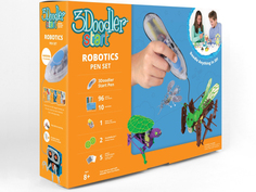 3D ручка 3Doodler Wobble Works Роботы 3DS-ROBP-MUL-R