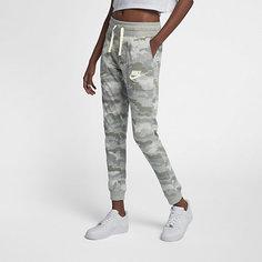 Женские брюки с камуфляжным принтом Nike Sportswear Gym Vintage